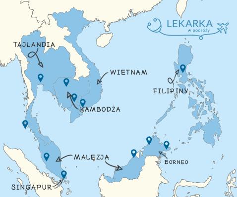 mapka poglądowa naszej wyprawy